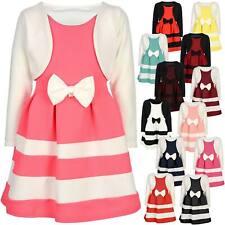 BEZLIT Mädchen Kinder Winter Kleid Festkleid Lang Arm Kostüm 30003