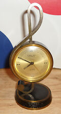 Vintage Looping Alarm Clock 15 Jewels 8 Days MUSICAL NOTE/MUSIC THEME