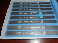 NEW - 8 Piece Nut Slotting File Set, MADE IN JAPAN, LT-1020-000