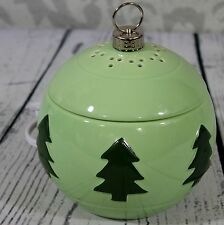 Yankee Candle Wax Warmer Christmas Ornament Electric Tart Burner Green Tree