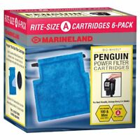 Marineland Rite-Size Cartridge Refills A 6-Pack Purify Water Fish Tank Aquarium