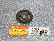 SUZUKI RM RM100 RM125 75-81 NEW GENUINE 2ND GEAR DRIVEN NT:28  24321-41310