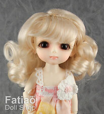 "New Dollfie Lati Yellow Pukifee 5-6"" Doll Wig - Blonde"