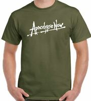 Apocalypse Now T-Shirt Vietnam Mens Retro Movie 70's 80's Movie War Film Top