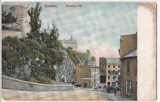 Canada, Quebec; Mountain Hill  PPC, 1908 PMK, Shows Peg Top Depot Sign