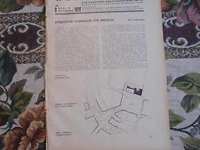 1929 Beilage Bauzeitung 9 / Breslau Sparkasse / Mainz Empfängniskirche