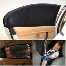 Car Window Net Anti Mosquito Sunshade Mesh Cover Baby UV Shield Curtain 2Pcs