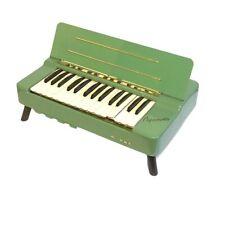 Vintage Hohner Organetta Tiny Mid Century Modern Electric Organ Mint Green COOL