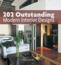 202 Outstanding Modern Interior Designs NEW Free Shipping