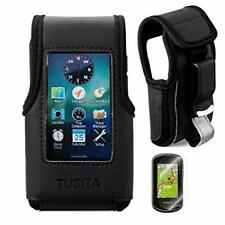 TUSITA Carrying Case With Belt Clip and Screen Protector for Garmin Oregon 600