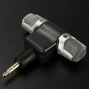 Portable Digital Stereo Mini Microphone for Sony MIC-DS70P Computer Tool New