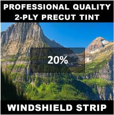 Windshield tint strip precut 20% (Year Needed) for Honda Accord Sedan