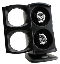 Dual Automatic Watch Winder Display Storage Case Rotation Luxury For Rolex Omega