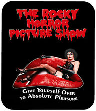 """ROCKY HORROR PICTURE SHOW MOUSE PAD 1/4"""" RETRO HORROR MOVIE MOUSEPAD"""