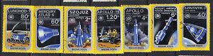 Hungary 1975 Apollo-Soyuz Russian American Space Cooperation CNH SC C354 - C360
