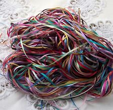EMBROIDERY RIBBON 100% PURE SILK RIBBON 2mm 50 yd Assortment