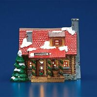 PINEWOOD LOG CABIN Dept 56 Snow Village Issued 1989 Retired