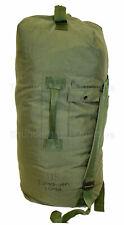 Us Military Top Loading Duffel Bag Duffle with Straps Sea Bag Od Nylon Vgc