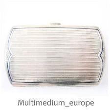 Jugendstil Silber Zigaretten Etui Schatulle 800 silver cigarette case Austria