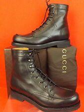 cb3211f19eef Gucci Deroy Black Bull Calf Leather Boots