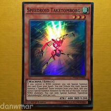 Speedroid Taketomborg - YuGiOh - Super Rare - HSRD - 1st Edition - Mint card!