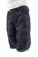 Pearl Izumi Canyon Men's Cycling Short, Plaid Eclipse Blue, Small