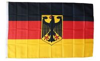 GERMANY with EAGLE  FLAG 3 x 5 '   FLAG   -  NEW 3X5 INDOOR OUTDOOR COUNTRY FLAG