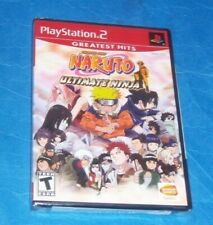 New Playstation 2 PS2 Naruto Ultimate Ninja Sealed Video Game Greatest Hits