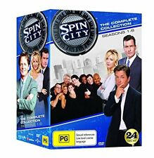 Spin City Complete Collection (DVD - USA FORMAT) Season 1-6 BRAND NEW