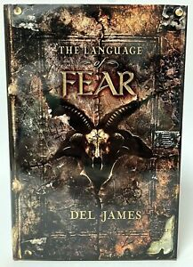 Signed Limited Edition THE LANGUAGE OF FEAR By Del James Cemetery Dance OOP