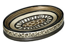 Popular Bath Safari Stripes Bath Collection - Bathroom Sink Soap Dish