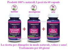 Dimagrire 100% naturale, perdere peso, Aloe ferox, Detox suplu, Cicoria 60 gg