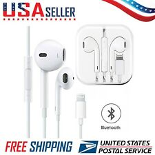Lightning Bluetooth Headphones Earphones Earbuds Apple iPhone 7,8,X,10,Xs,10s