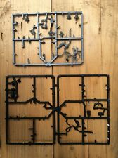 Warhammer 40k Ork and gretchin arms on sprues