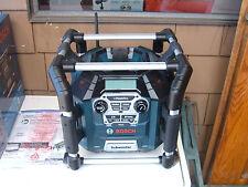 BOSCH PB360C JOB-SITE RADIO POWER BOX NIB WITH NEW BAT612 2.0 BATTERY 2016 DATES