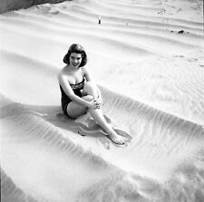 R17 MILLICENT DEMING 1950's Model/Actress VINTAGE ORIG B/W Eric Herman NEGATIVE