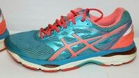 Asics Gel Cumulus 18 Blue Running Shoes Sneakers T6C8N  Womens Size 11