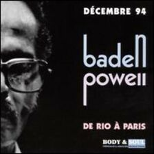 Baden Powell - De Rio A Paris [New CD]