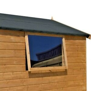 Garden Shed Window 3mm Clear Acrylic Perspex Plastic Sheet 2ft x 18 inches