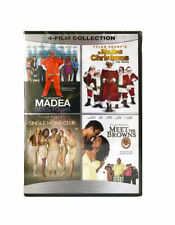 4FilmCollection-Madea:Goes to Jail/Christmas/Single Moms Club/Meet the BrownsDVD