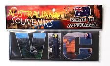 Victoria Australia Collage, Letters VIC, Photo, Image, Fridge Magnet, Souvenir.