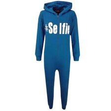 Pyjamas bleus pour garçon de 2 à 16 ans en 100% coton, 10 ans