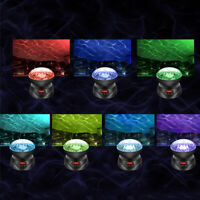 7 Farbwechsel Ocean Wave Projektor Nacht Lampe Musik Player LED Licht Geschenk