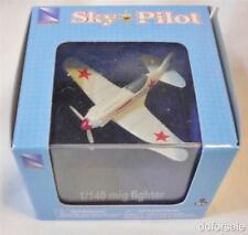 Mig Fighter 1:140 Scale Die-cast Model Plane by New Ray Toys with Display Case
