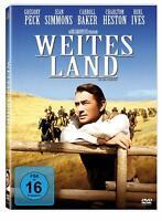 Weites Land [DVD/NEU/OVP] Gregory Peck stellt im Edel-Western Regeln in Frage.