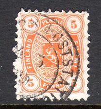 Finland - 1875 Def. Coat of Arms Mi. 13Ayb FU (Perf. 11) b