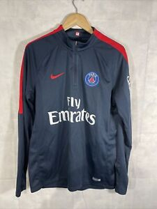 Mens Nike PSG 1/4 Zip Top. Used Size Large