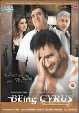 BEING CYRUS - SAIF ALI KHAN - NASERRUDDIN SHAH - NEW BOLLYWOOD DVD - FRE UK POST