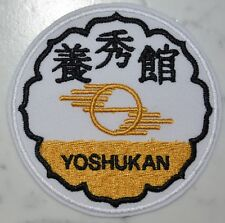 Yoshukan PATCH Aufnäher Parche brodé patche toppa Yo shu kan karate chito ryu