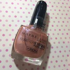 MAYBELLINE FOREVER STRONG 614 LUMINOUS PINK PROFESSIONAL +IRON UP TO 7 DAY WEAR
